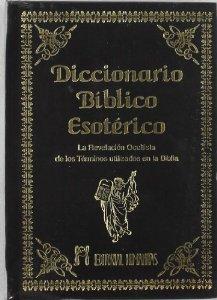 Portada de DICCIONARIO BÍBLICO ESOTÉRICO