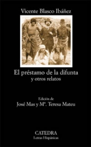 Portada de EL PRÉSTAMO DE LA DIFUNTA Y OTROS RELATOS
