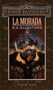 Portada de LA MORADA (EL ELFO OSCURO #1)
