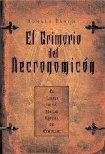 Portada de EL GRIMORIO DEL NECRONOMICÓN
