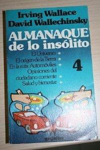 Portada de ALMANAQUE DE LO INSÓLITO VOL. 4