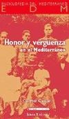 Portada de HONOR Y VERGÜENZA EN EL MEDITERRÁNEO