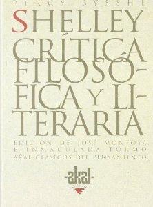 Portada de CRÍTICA FILOSÓFICA Y LITERARIA
