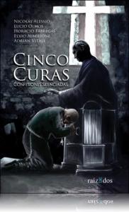 Portada de CINCO CURAS, CONFESIONES SILENCIADAS