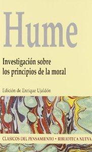 Portada de INVESTIGACIÓN SOBRE LOS PRINCIPIOS DE LA MORAL