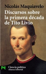 Portada de DISCURSOS SOBRE LA PRIMERA DÉCADA DE TITO LIVIO