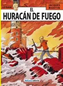 EL HURACÁN DE FUEGO (LEFRANC#2)