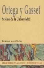 Portada de MISIÓN DE LA UNIVERSIDAD