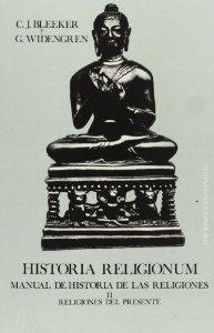 Portada de HISTORIA RELIGIONUM. MANUAL DE HISTORIA DE LAS RELIGIONES. II: RELIGIONES DEL PRESENTE