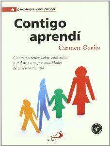 Portada de CONTIGO APRENDÍ: CONVERSACIONES SOBRE EDUCACIÓN