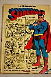 Portada de LA HISTORIA DE SUPERMAN