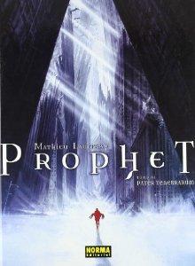 Portada de PATER TENEBRARUM (PROPHET#3)