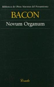 Portada de NOVUM ORGANUM