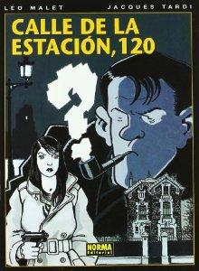 Portada de CALLE DE LA ESTACIÓN, 120 (NÉSTOR BURMA#1)