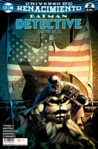 Portada de BATMAN. DETECTIVE COMICS#2 (RENACIMIENTO)
