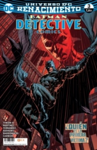 Portada de BATMAN. DETECTIVE COMICS#3 (RENACIMIENTO)