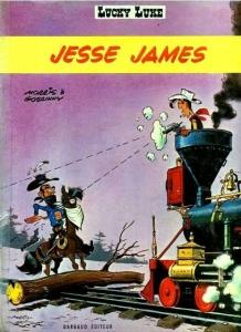 Portada de LUCKY LUKE: JESSE JAMES (LUCKY LUKE#35)