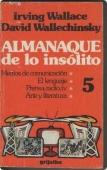 Portada de ALMANAQUE DE LO INSÓLITO VOL. 5