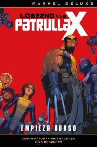 Portada de LOBEZNO Y LA PATRULLA-X