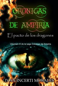 Portada de CRÓNICAS DE AMPIRIA: EL PACTO DE LOS DRAGONES