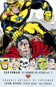Portada de SUPERMAN: EL HOMBRE DE ACERO (GRANDES AUTORES DE SUPERMAN: JOHN BYRNE #5)