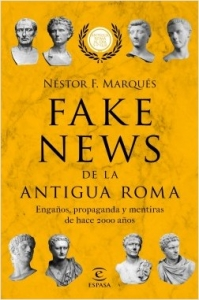Portada de FAKE NEWS DE LA ANTIGUA ROMA