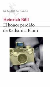 Portada de EL HONOR PERDIDO DE KATHARINA BLUM