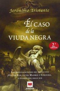 Portada de EL CASO DE LA VIUDA NEGRA  (VÍCTOR ROS  #2)