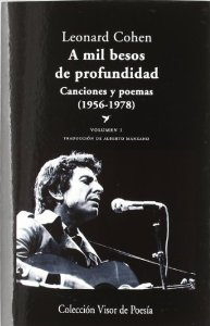 Portada de A MIL BESOS DE PROFUNDIDAD I: CANCIONES Y POEMAS (1956-1978)