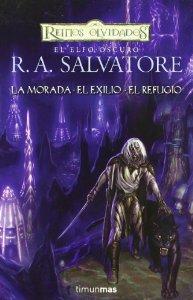 Portada de EL ELFO OSCURO (trilogía completa)