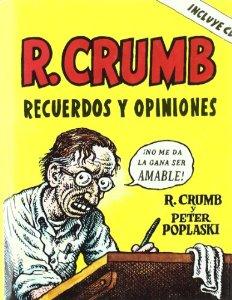 Portada de ROBERT CRUMB. RECUERDOS Y OPINIONES
