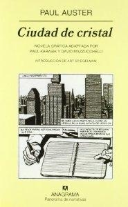 Portada de CIUDAD DE CRISTAL. NOVELA GRÁFICA