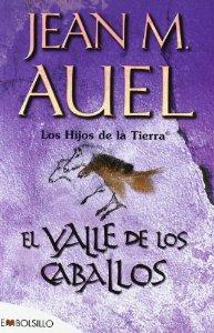 Portada de EL VALLE DE LOS CABALLOS (LOS HIJOS DE LA TIERRA #2)
