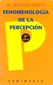 Portada de FENOMENOLOGÍA DE LA PERCEPCIÓN