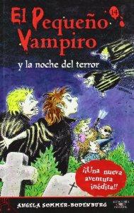 Portada de EL PEQUEÑO VAMPIRO Y LA NOCHE DEL TERROR