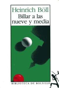 Portada de BILLAR A LAS NUEVE Y MEDIA