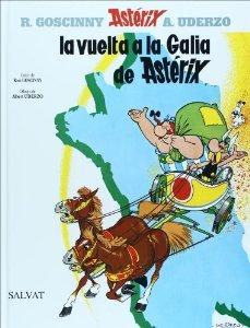 Portada de LA VUELTA A LA GALIA (ASTÉRIX #5)