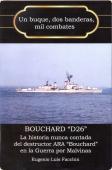 Portada de UN BUQUE, DOS BANDERAS, MIL COMBATES. BOUCHARD D26