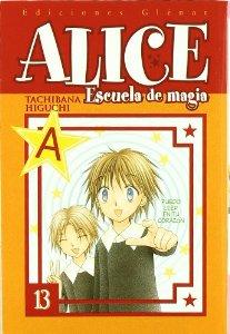 Portada de ALICE ESCUELA DE MAGIA, VOLUMEN 13