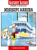 Portada de LUCKY LUKE: MISISIPI ARRIBA (LUCKY LUKE#16)
