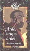 Portada de ARDE, BRUJA, ARDE
