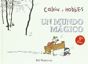 Portada de CALVIN Y HOBBES. UN MUNDO MÁGICO