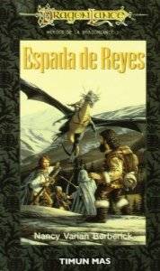 Portada de ESPADA DE REYES (HÉROES I DE DRAGONLANCE #2)