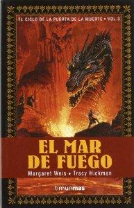 Portada de EL MAR DE FUEGO (EL CICLO DE LA PUERTA DE LA MUERTE #3)