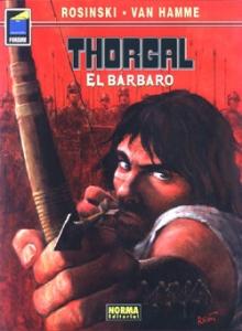 Portada de THORGAL. EL BÁRBARO (THORGAL#27)