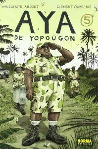 Portada de AYA DE YOPOUGON 5