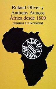 Portada de AFRICA DESDE 1800