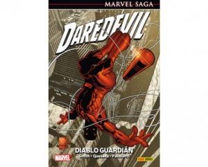 Portada de DAREDEVIL 1: DIABLO GUARDIAN (MARVEL SAGA 02)