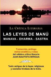 LAS LEYES DE MANÚ