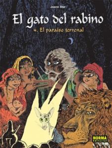 Portada de EL GATO DEL RABINO. EL PARAÍSO TERRENAL (EL GATO DEL RABINO #4)